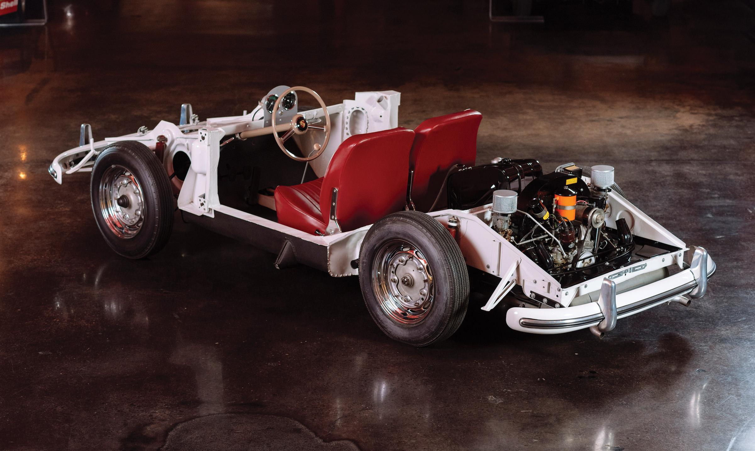 Ball Bearings Car >> An Original 100% Driveable Porsche 356 A Training Chassis