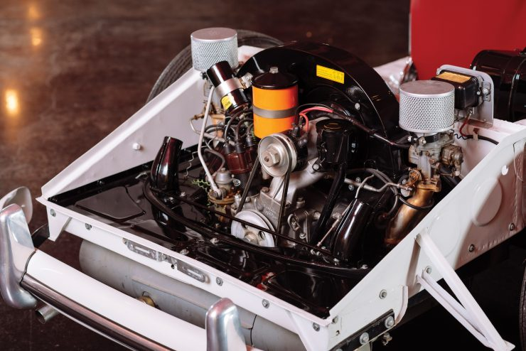 Porsche 356 Chassis Engine 2