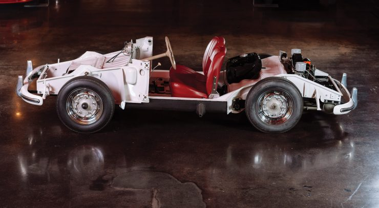 Porsche 356 Chassis Side