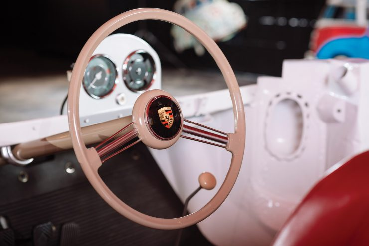 Porsche 356 Chassis Steering Wheel