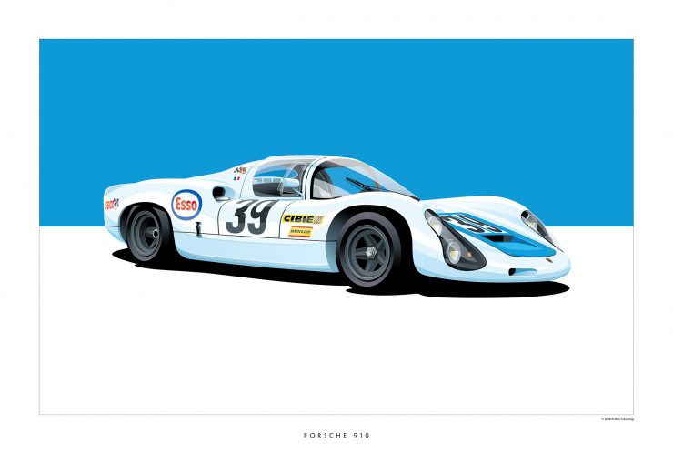 Porsche-910