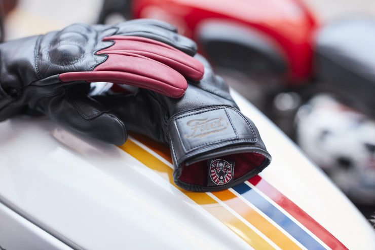 Return of the Cafe Racers x Fuel Motorcycles Victory Motorcycle Gloves 1