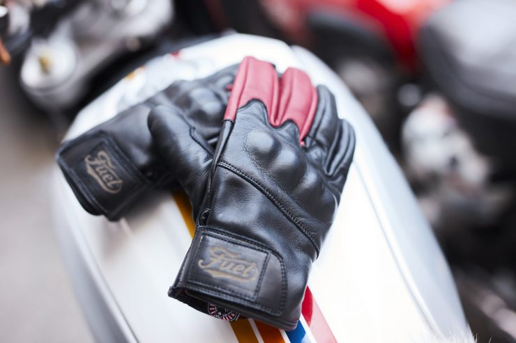 Return of the Cafe Racers x Fuel Motorcycles Victory Motorcycle Gloves 2