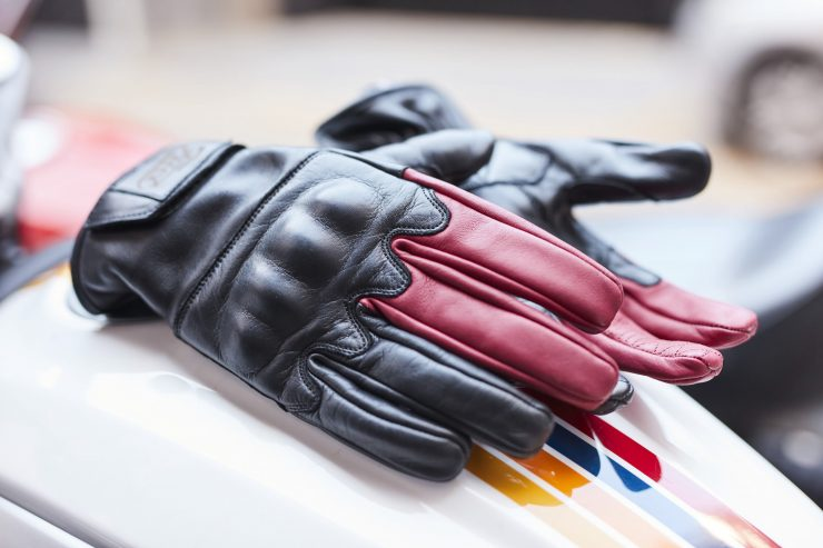 Return of the Cafe Racers x Fuel Motorcycles Victory Motorcycle Gloves 3