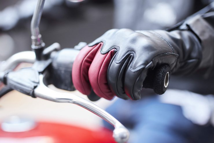 Return of the Cafe Racers x Fuel Motorcycles Victory Motorcycle Gloves 7