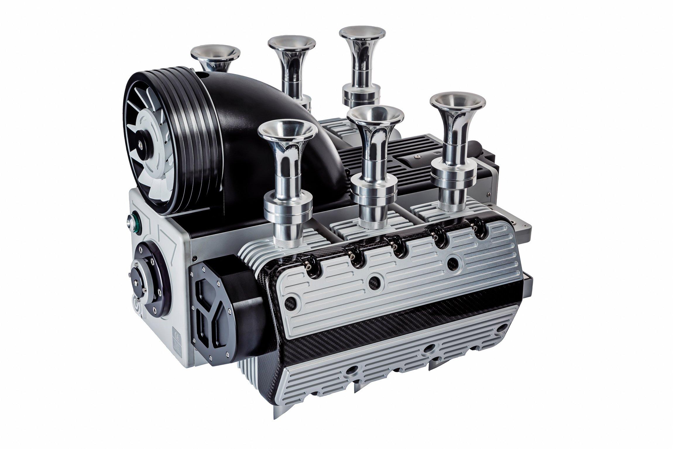 Super Veloce Porsche Engine Coffee Espresso Machine 1