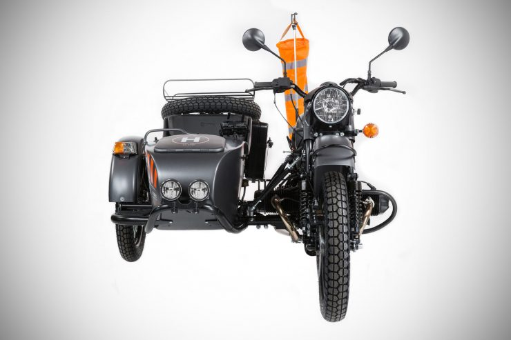 Ural Air LE Sidecar Motorcycle Front