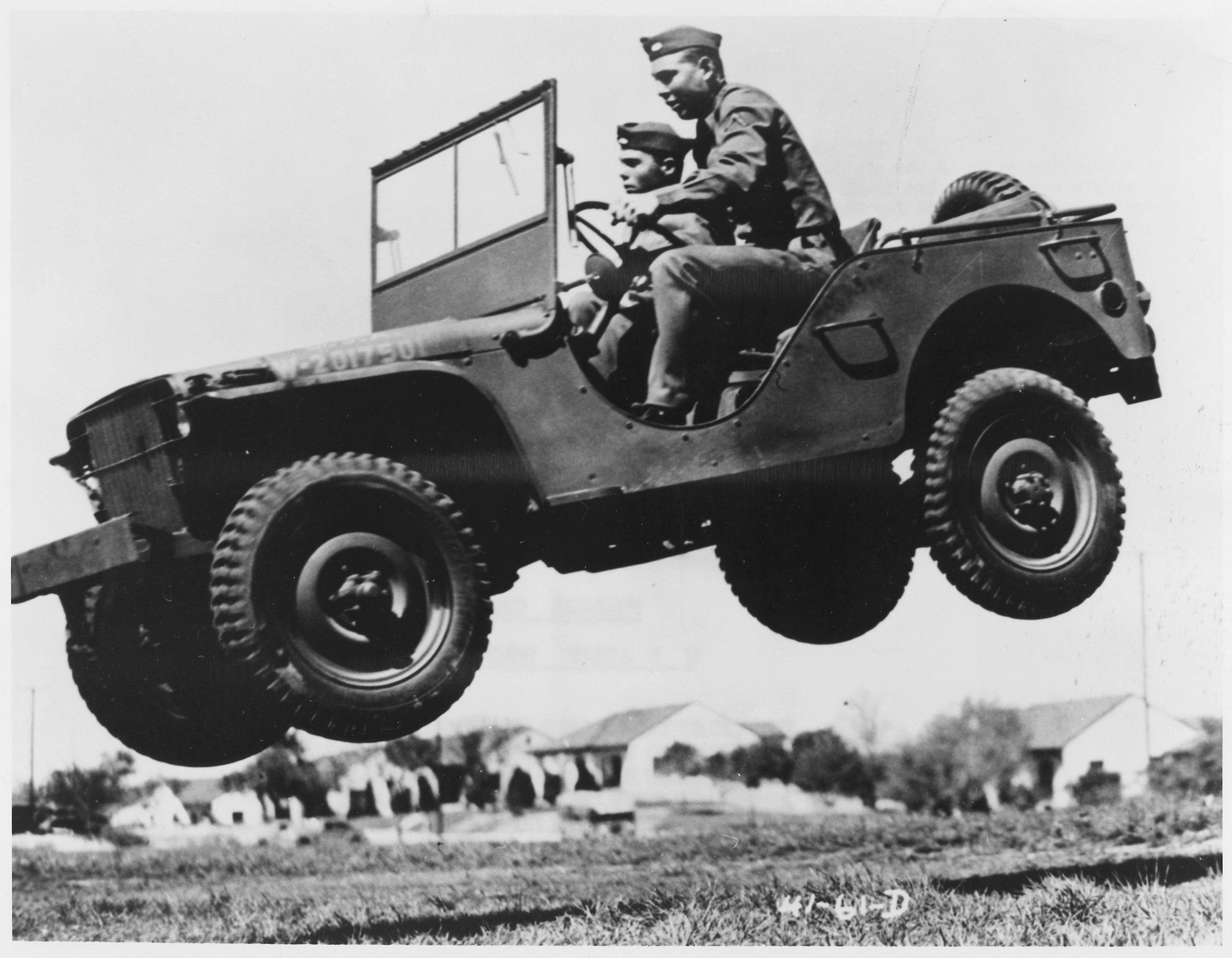 Willys Jeep WW2