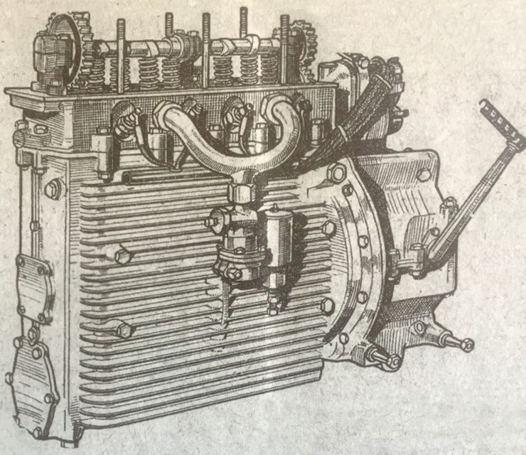Windhoff Motorcycle Engine