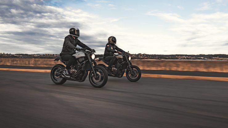 Yamaha XSR 700 Custom Motorcycle 1