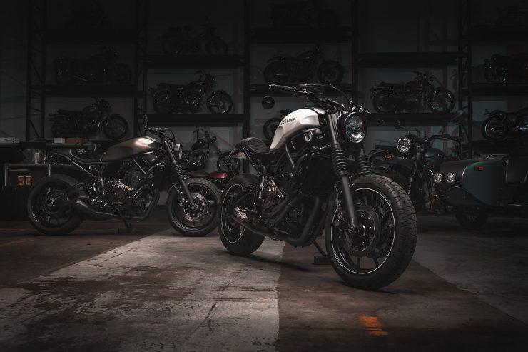 Yamaha XSR 700 Custom Motorcycle 11