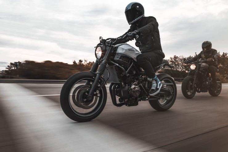 Yamaha XSR 700 Custom Motorcycle 14