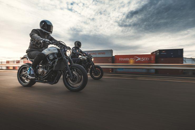 Yamaha XSR 700 Custom Motorcycle 15