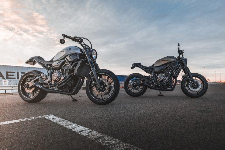 Yamaha XSR 700 Custom Motorcycle 2