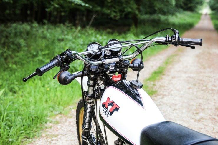 Yamaha XT500 Close Up