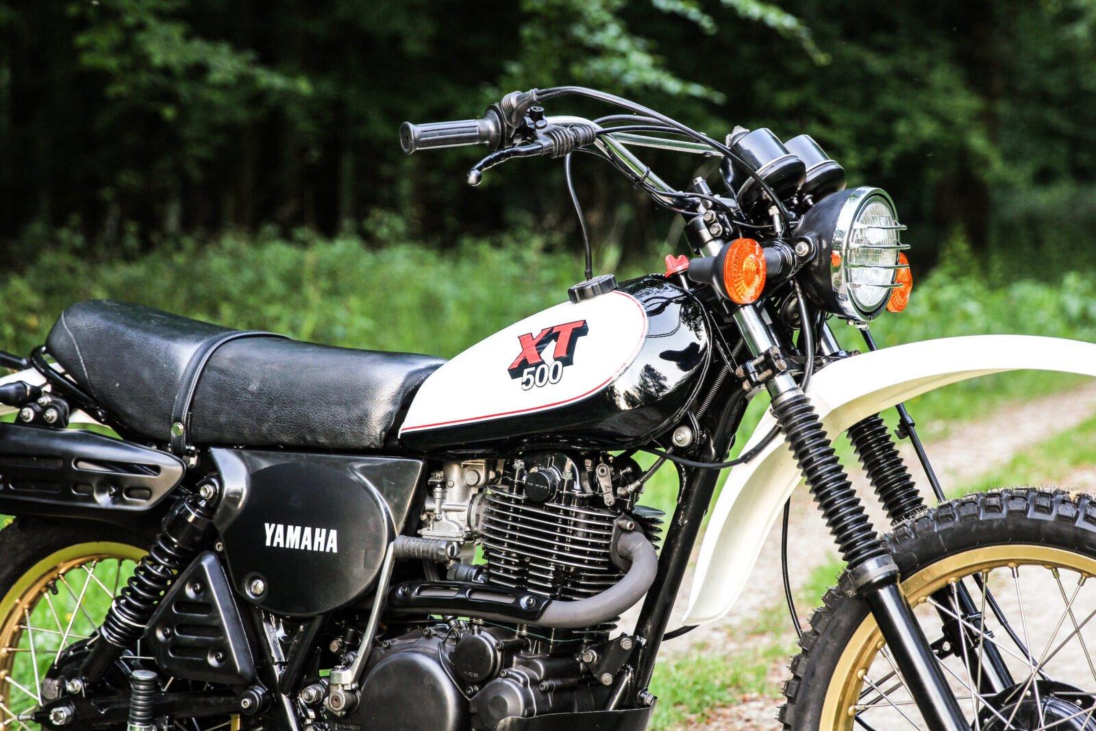 Yamaha XT500 Engine