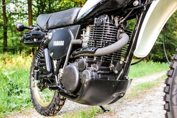 Yamaha XT500 Engine 2