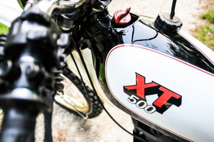 Yamaha XT500 Fuel Tank