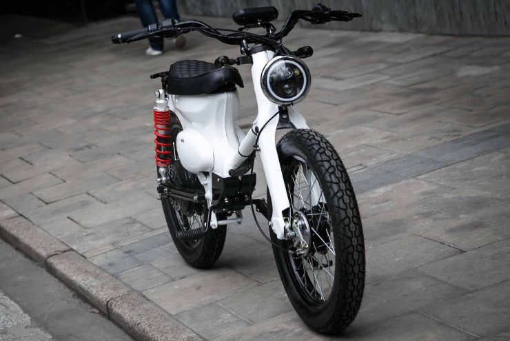 Honda Cub Electric
