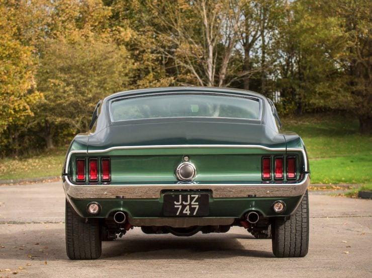 Ford Mustang Bullitt Back