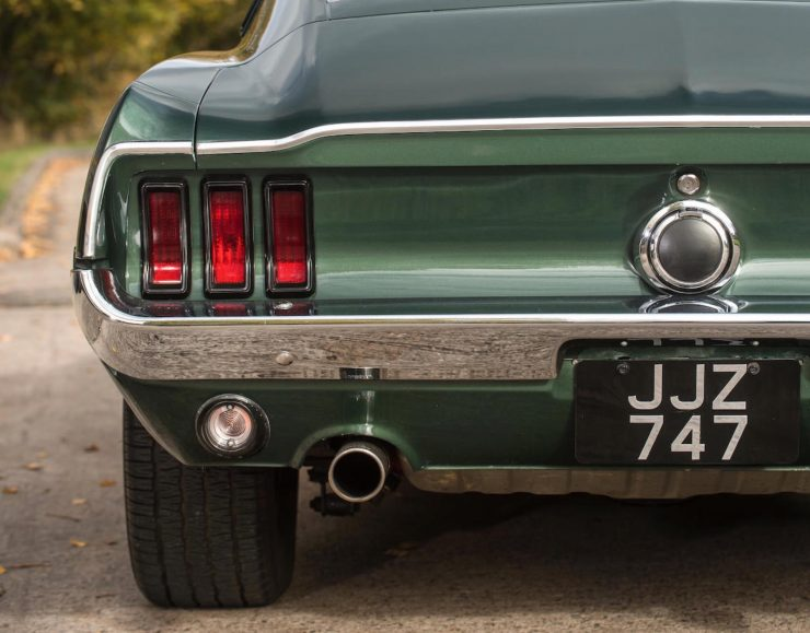 Ford Mustang Bullitt Tail Lights