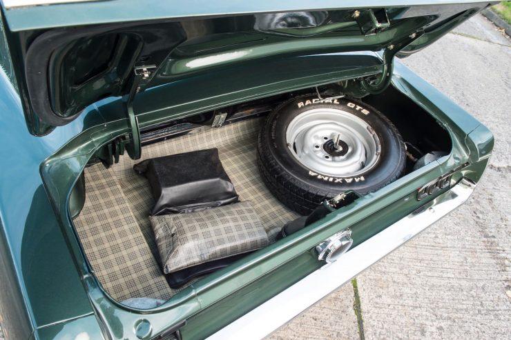 Ford Mustang Bullitt Trunk