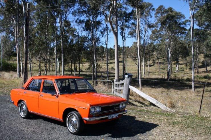 Datsun 1600 510 mikan orange car