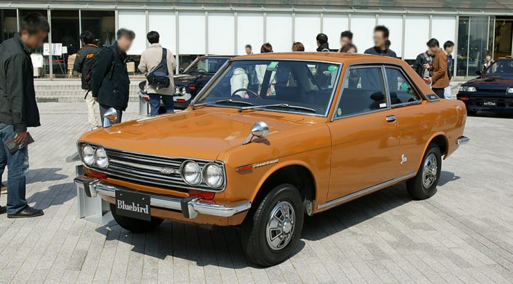 Datsun 510 Bluebird coupe