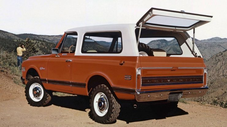 Chevrolet K5 Blazer First Generation