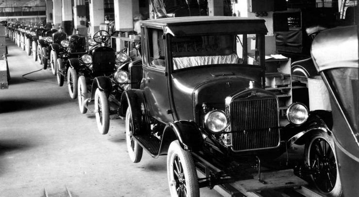 Ford Model T production line