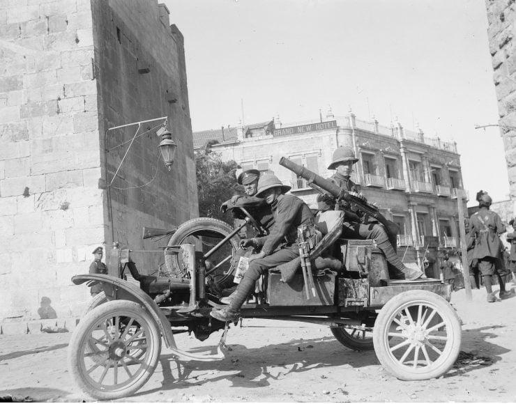 Ford Model T First World War Jaffa Gate Jerusalem