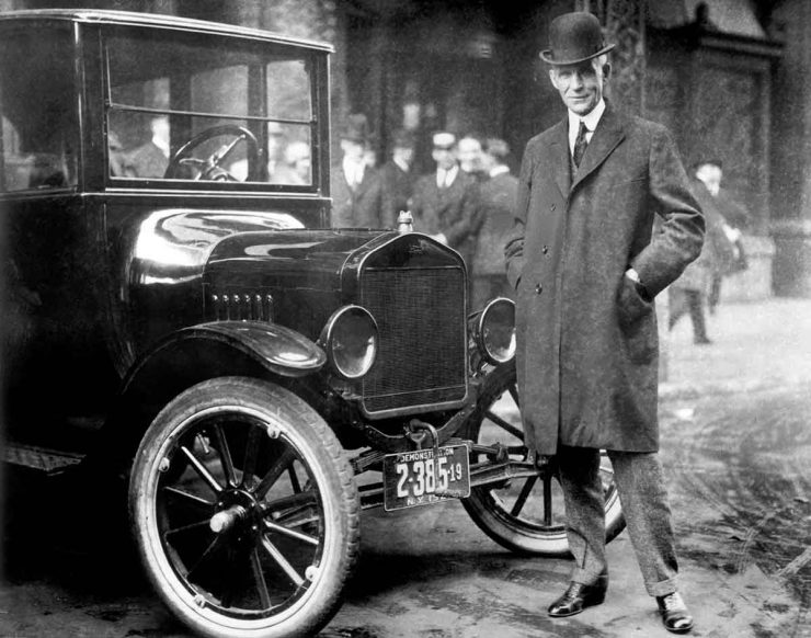 Henry Ford Model T automobile