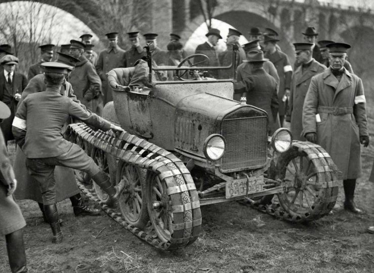 Ford Model T fulltrack World War 1