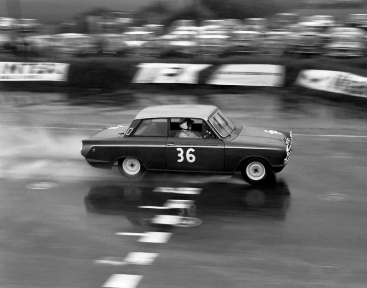 Alan Mann Racing Lotus Cortina Mk1 2