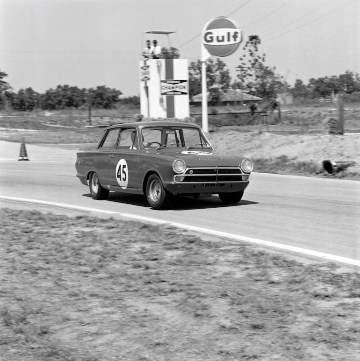 Mystery Solved: The Lost Alan Mann Racing Lotus Cortina Mk1