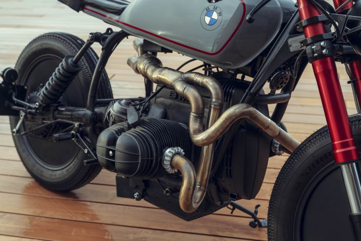 BMW R80 Cafe Racer Engine & Exhaust
