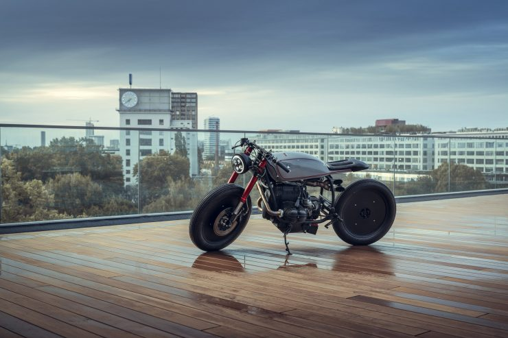BMW R80 Cafe Racer Left Side