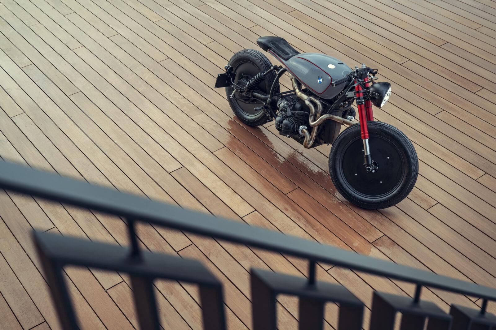 BMW R80 Cafe Racer Overhead