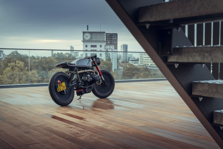 BMW R80 Cafe Racer Rear