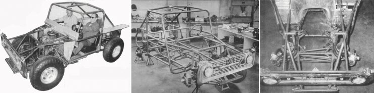 Big Oly Ford Bronco Chassis Construction