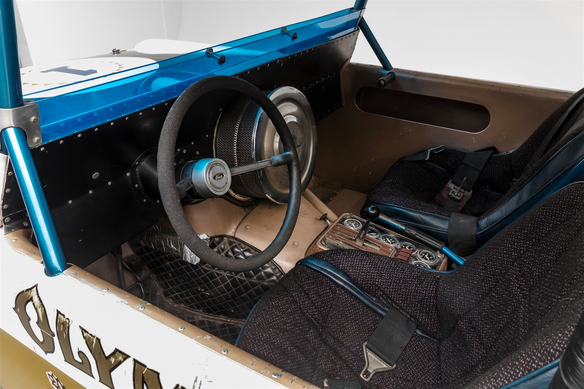 Big Oly The Off Road Racing Ford Bronco That Changed Everything 1970 Interior Cockpit