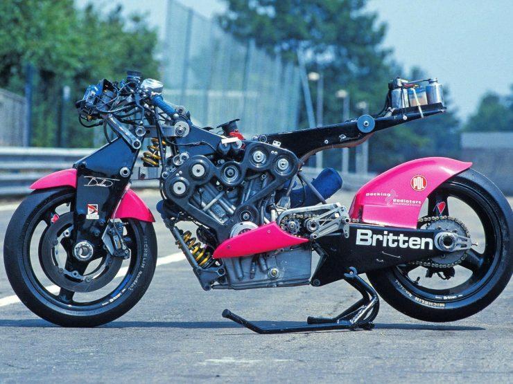Britten V1000 Engine