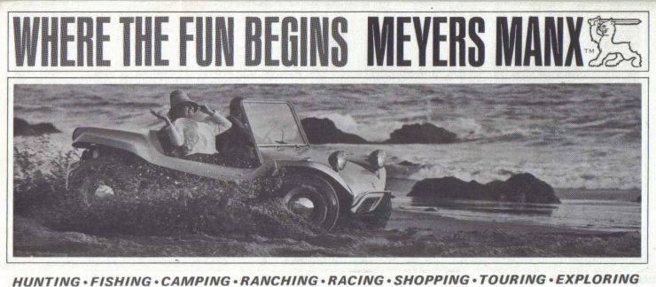 Bruce Meyers - Meyers Manx Magazine Ad