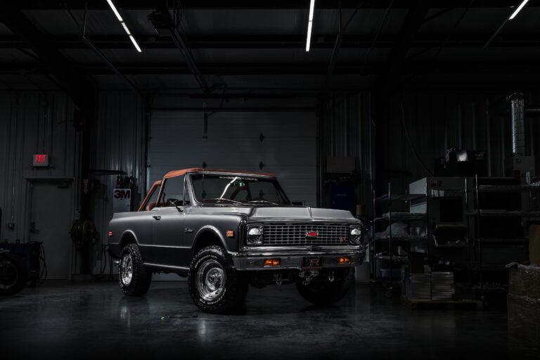 New Ford Bronco >> The Ringbrothers Chevrolet K5 Blazer - A 430 BHP Classic ...