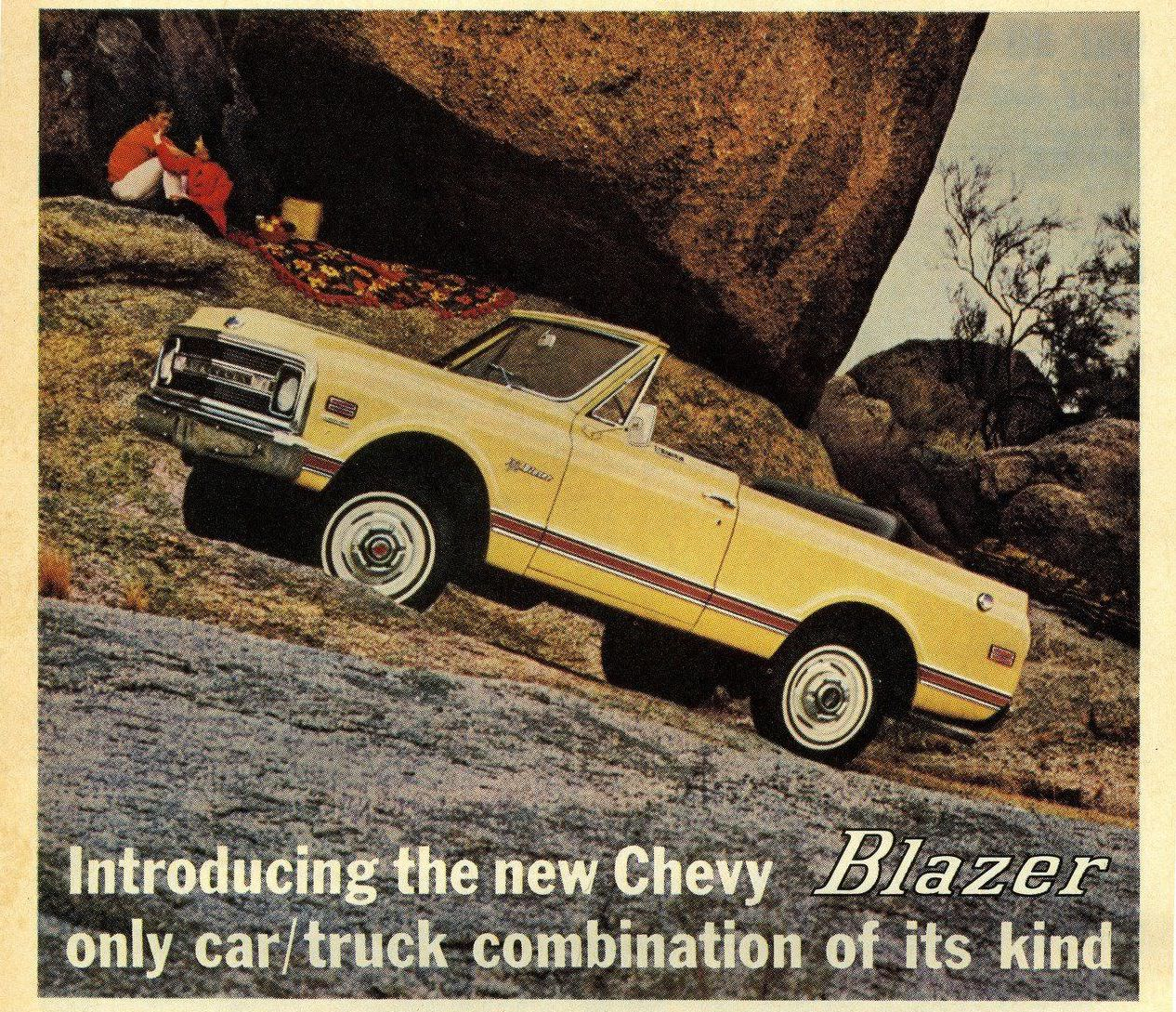 A Brief History of the First Generation Chevrolet K5 Blazer