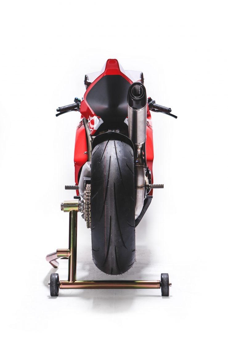 Custom Ducati Back Tire