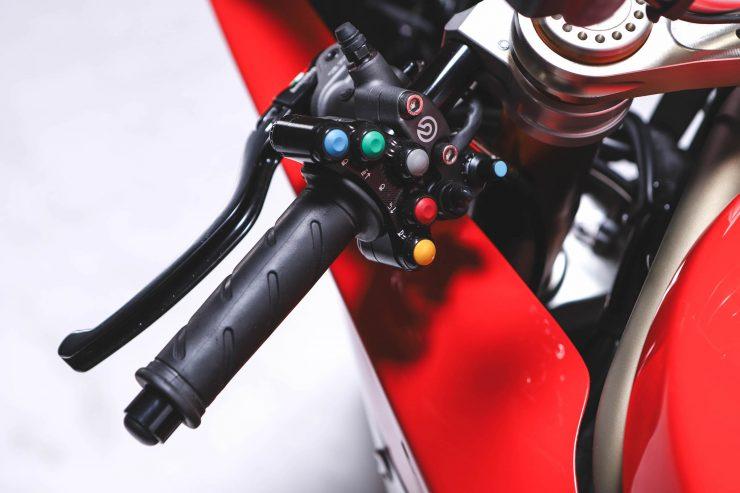 Custom Ducati Handlebars