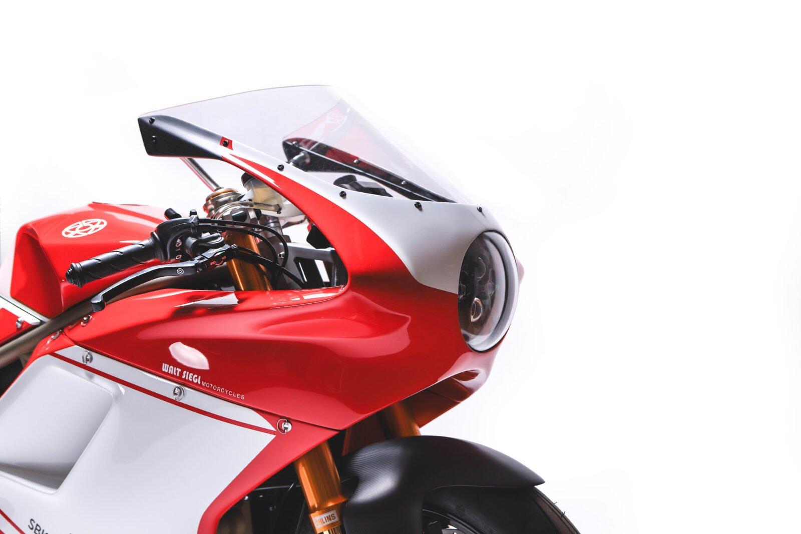 Custom Ducati Headlight
