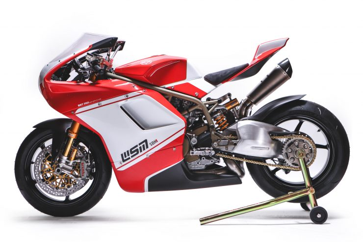 Custom Ducati Left Side
