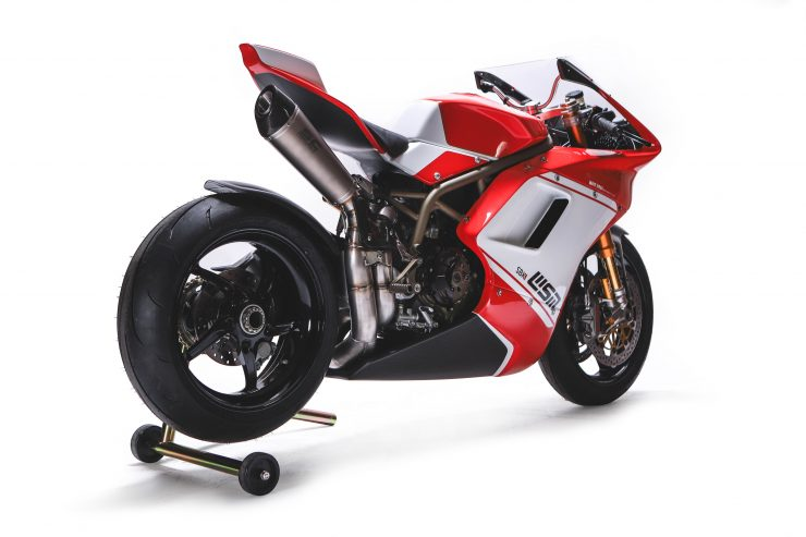 Custom Ducati Rear